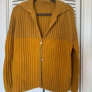 Vintage two-toned Sweater - Medium